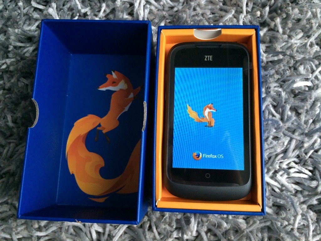 ZTE Open - Firefox OS