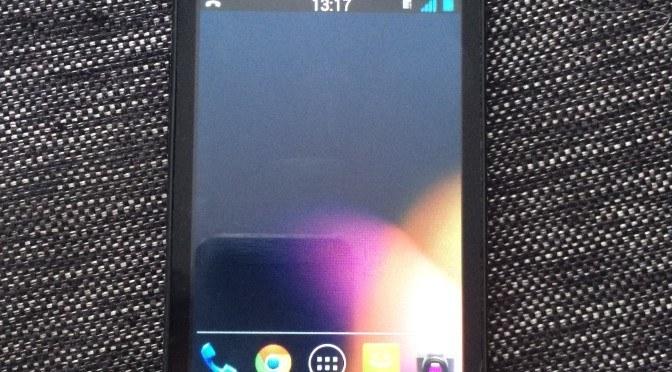 Samsung Galaxy Ace actualizado a Android 4.1.1